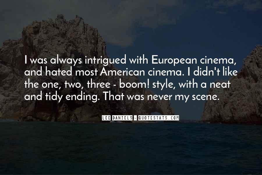 American And European Quotes #1393546