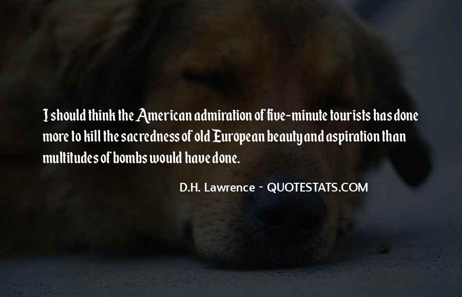 American And European Quotes #1775348