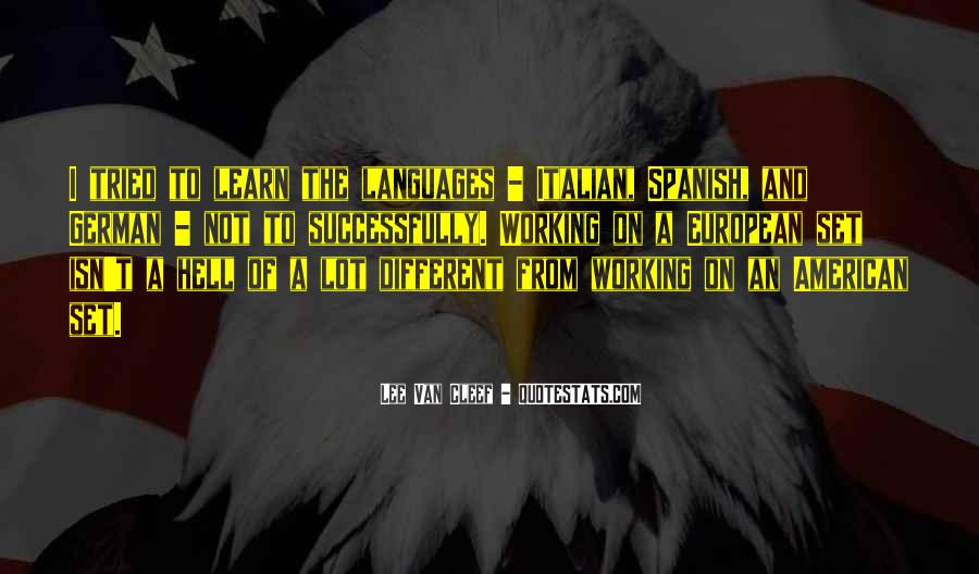 American And European Quotes #299271