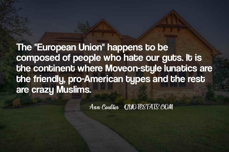 American And European Quotes #357918