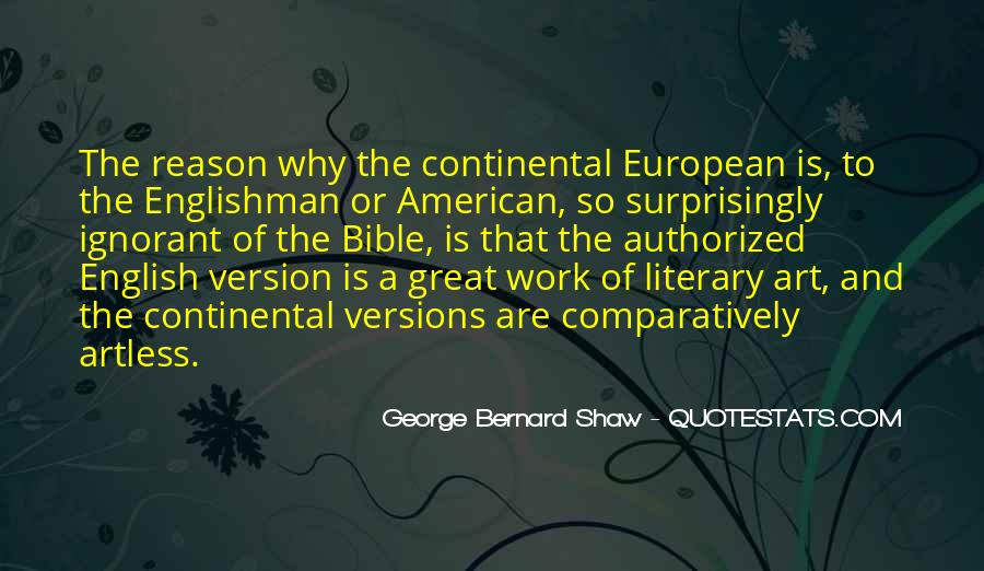 American And European Quotes #438697