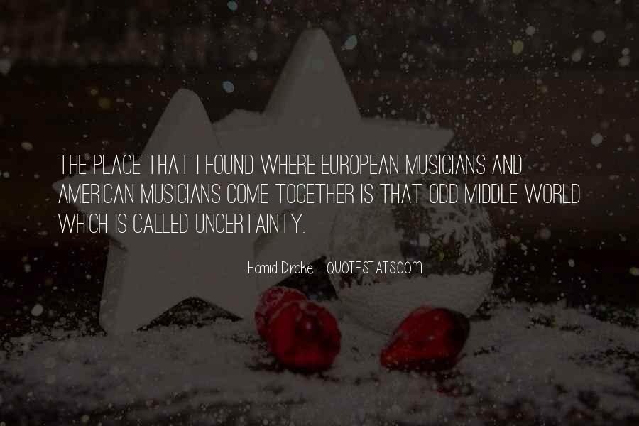 American And European Quotes #451782