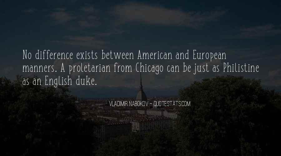 American And European Quotes #911390