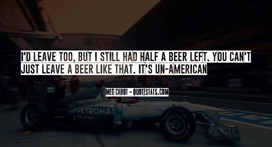 American Beer Quotes #1387833