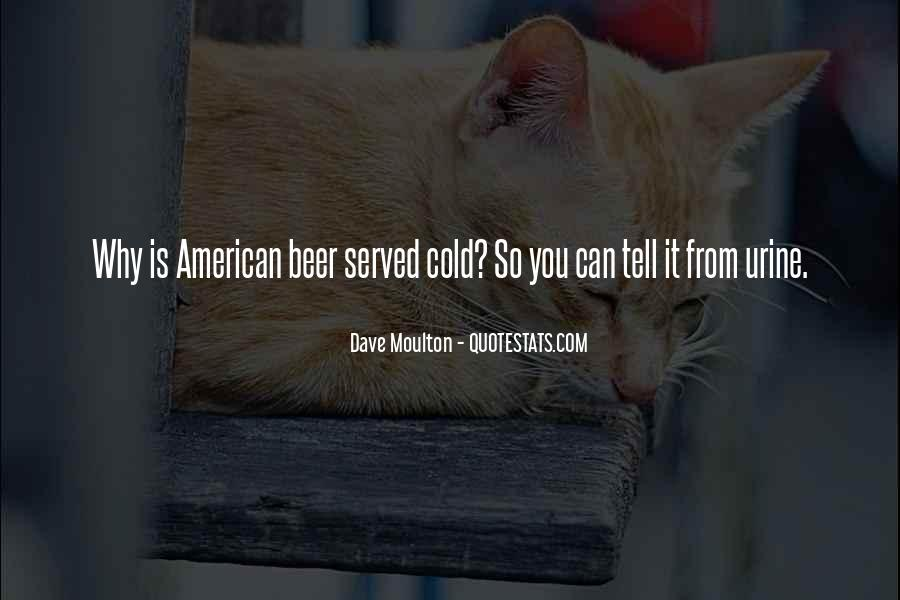 American Beer Quotes #514433