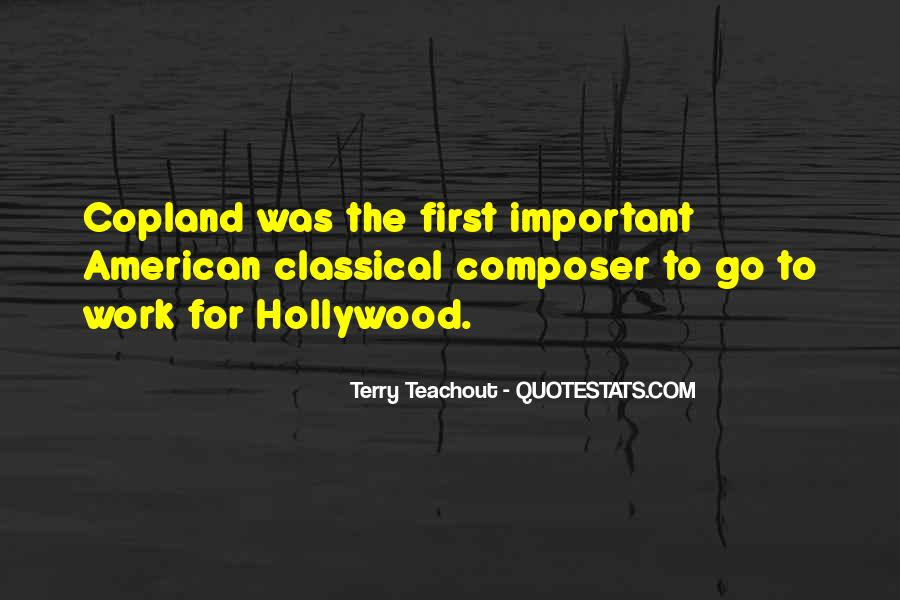 American Composer Quotes #1464090