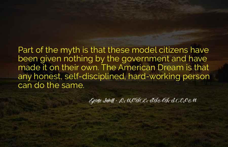 American Dream Myth Quotes #1256930