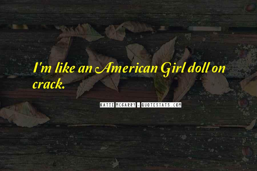 American Girl Doll Quotes #455407