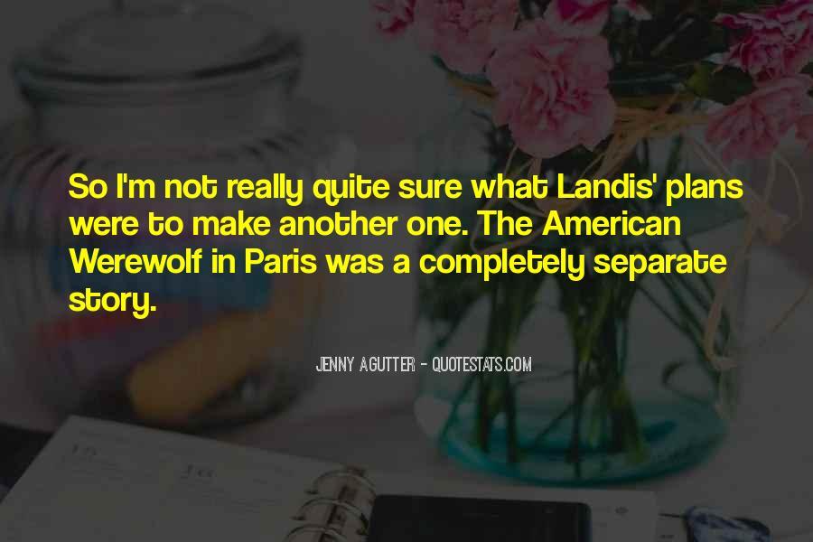 American Werewolf In Paris Quotes #1854187