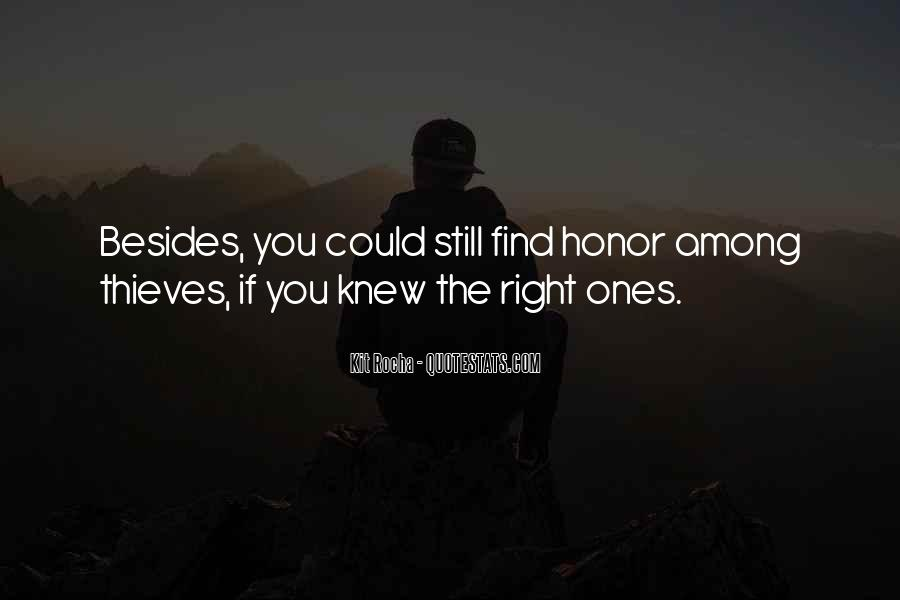 Among Thieves Quotes #1149662