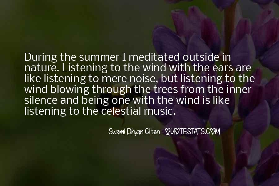 Quotes About Music And Summer #1803258