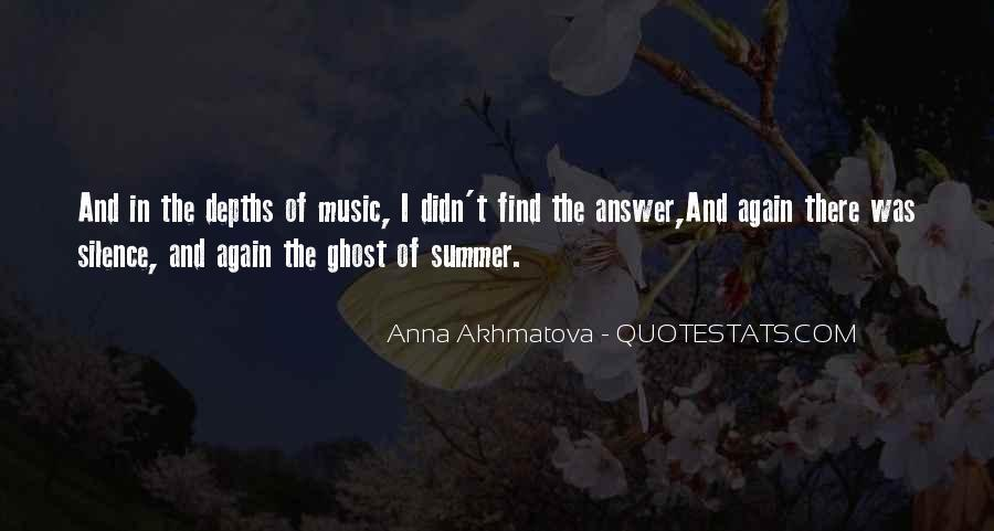 Quotes About Music And Summer #1865436