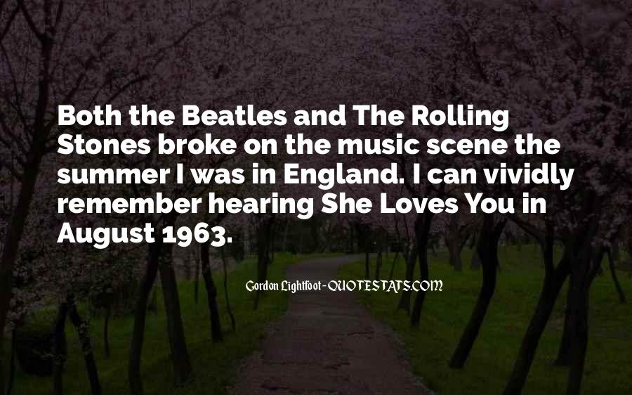 Quotes About Music And Summer #303038