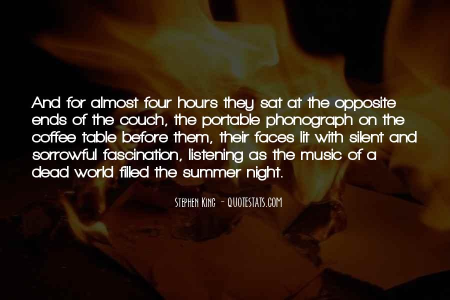Quotes About Music And Summer #518366
