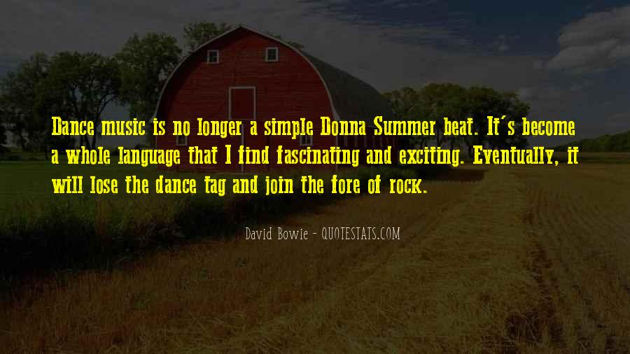 Quotes About Music And Summer #756959