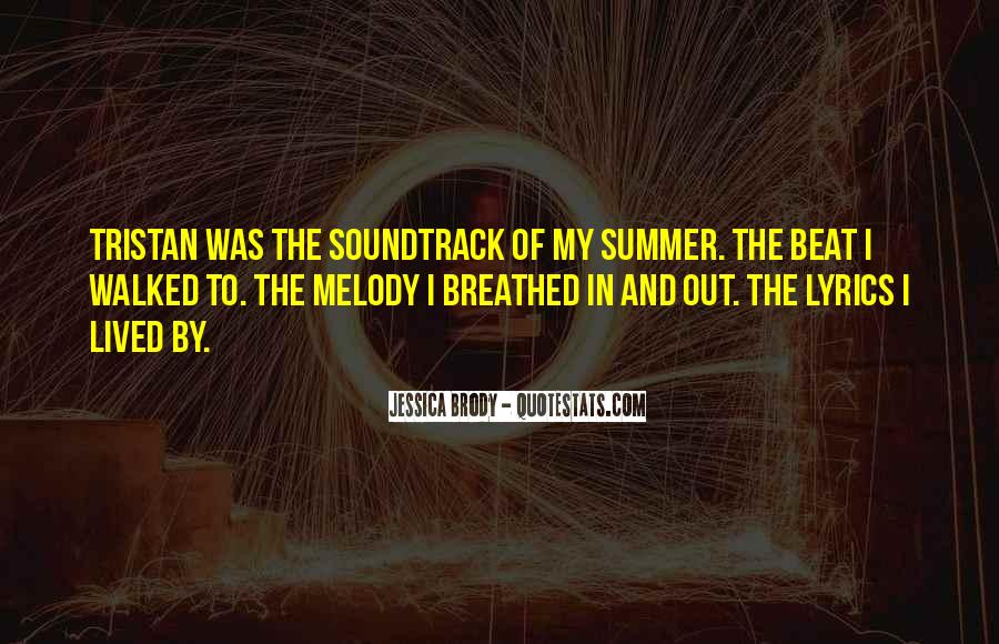 Quotes About Music And Summer #877295