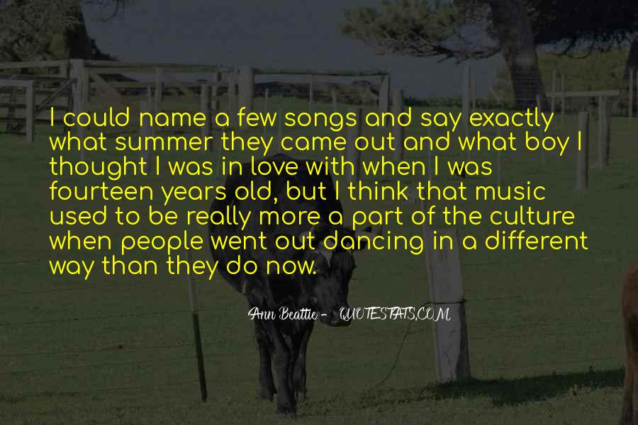 Quotes About Music And Summer #885687