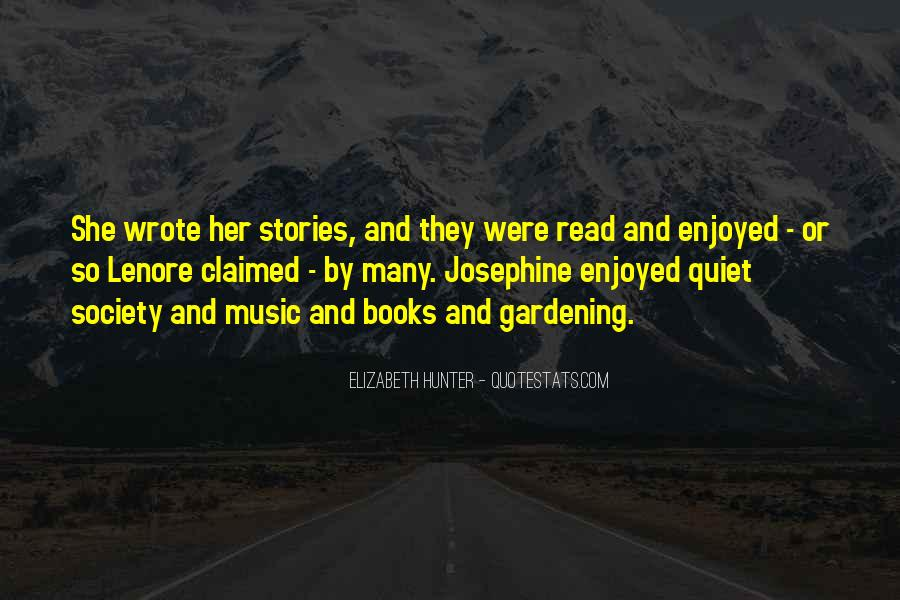 Quotes About Music And Books #1011439