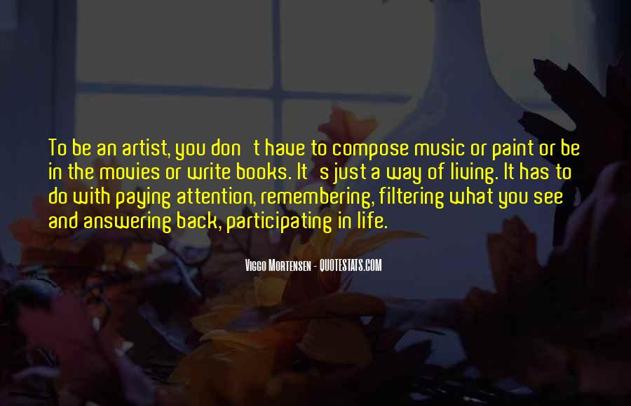 Quotes About Music And Books #256497
