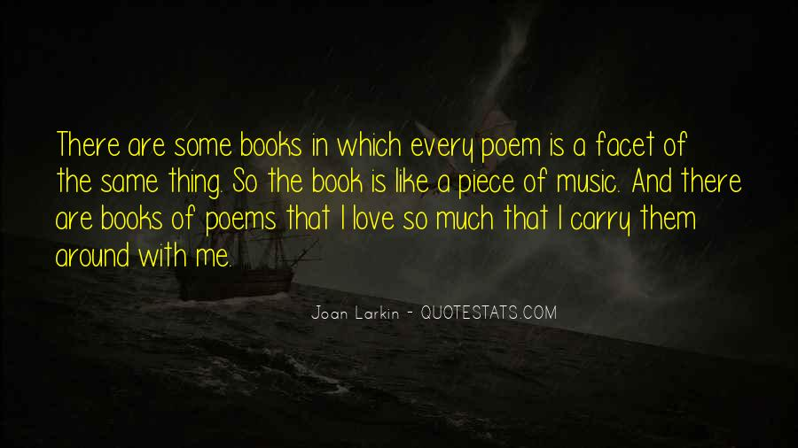 Quotes About Music And Books #483779