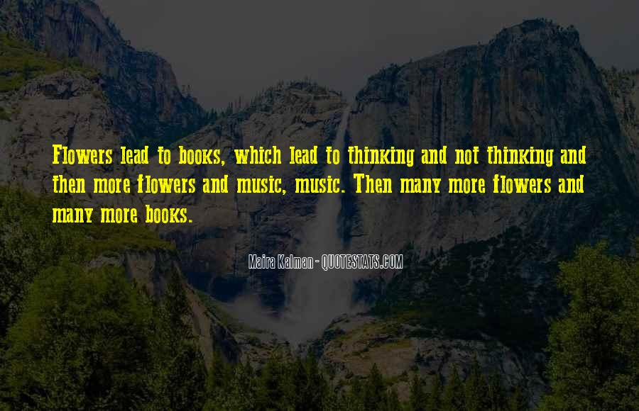 Quotes About Music And Books #523765