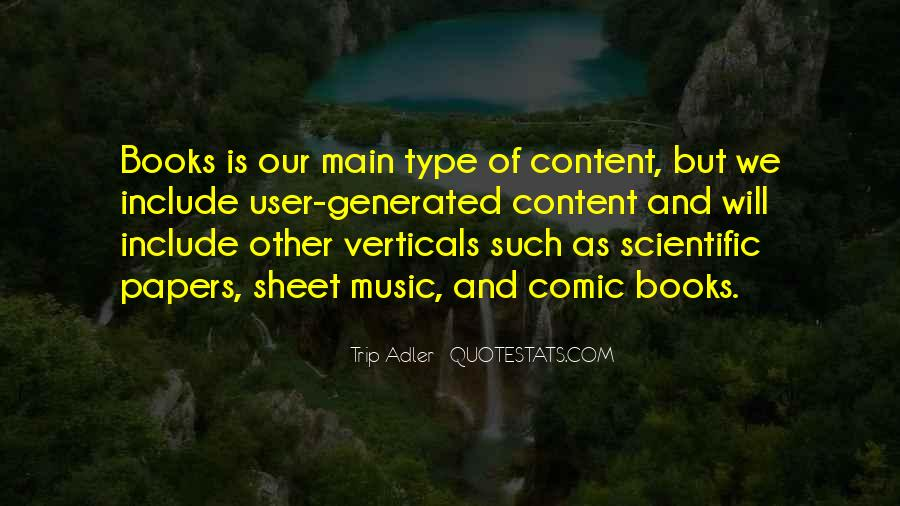 Quotes About Music And Books #56813