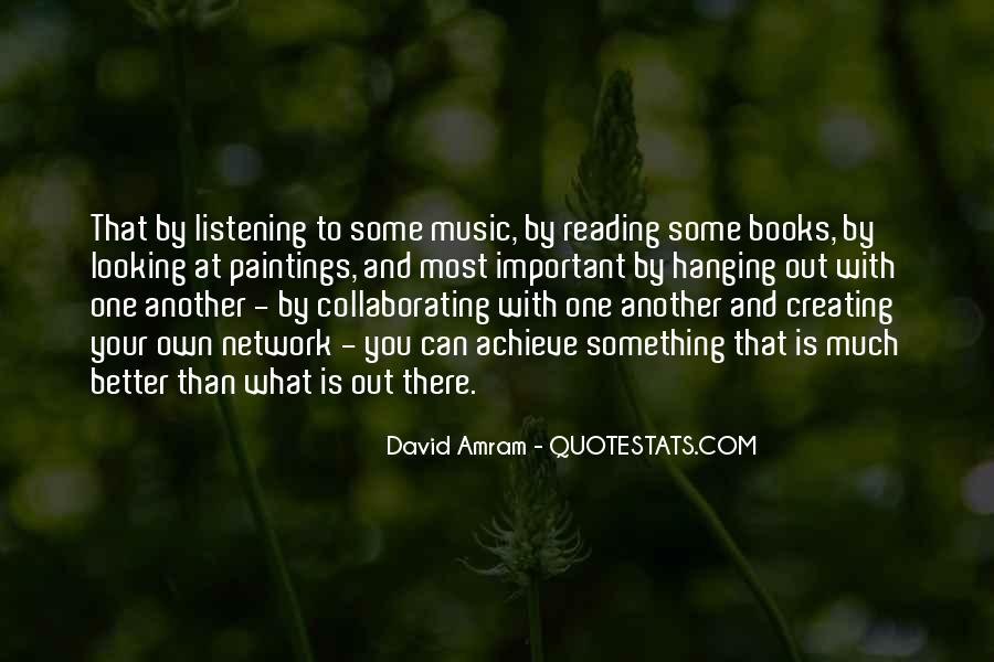 Quotes About Music And Books #601926