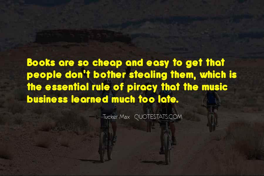 Quotes About Music And Books #613299