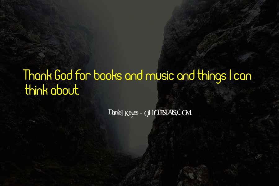 Quotes About Music And Books #631077