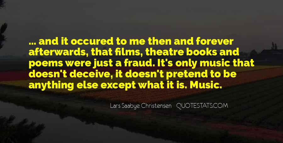 Quotes About Music And Books #660423