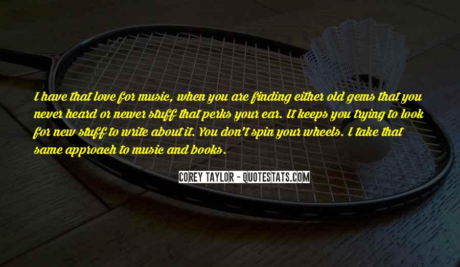 Quotes About Music And Books #684249