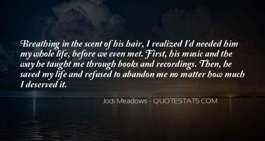 Quotes About Music And Books #701010