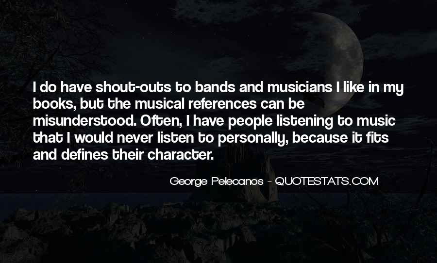 Quotes About Music And Books #706614