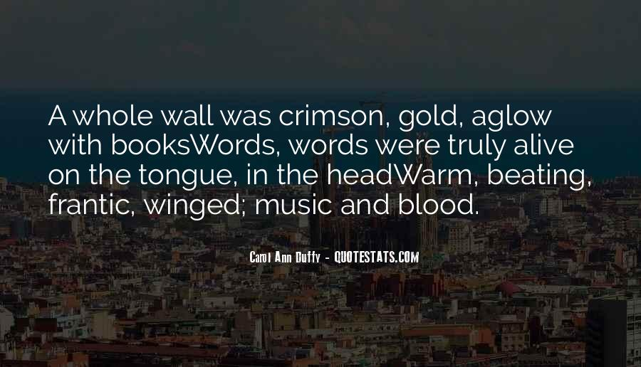 Quotes About Music And Books #778668