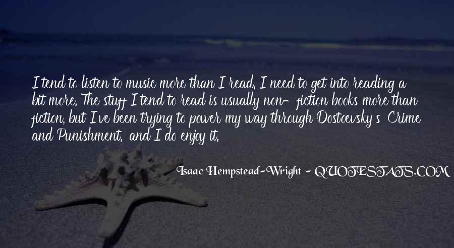 Quotes About Music And Books #7926
