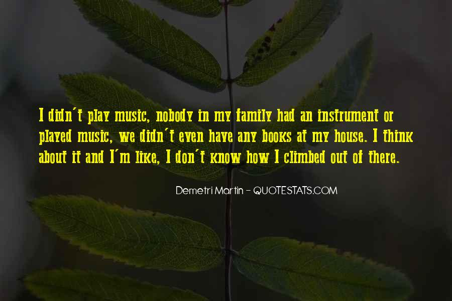 Quotes About Music And Books #845391
