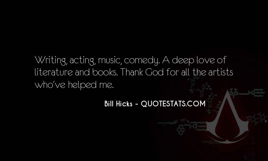 Quotes About Music And Books #87456