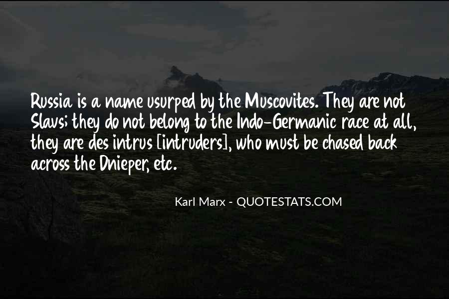 Quotes About Muscovites #1353447