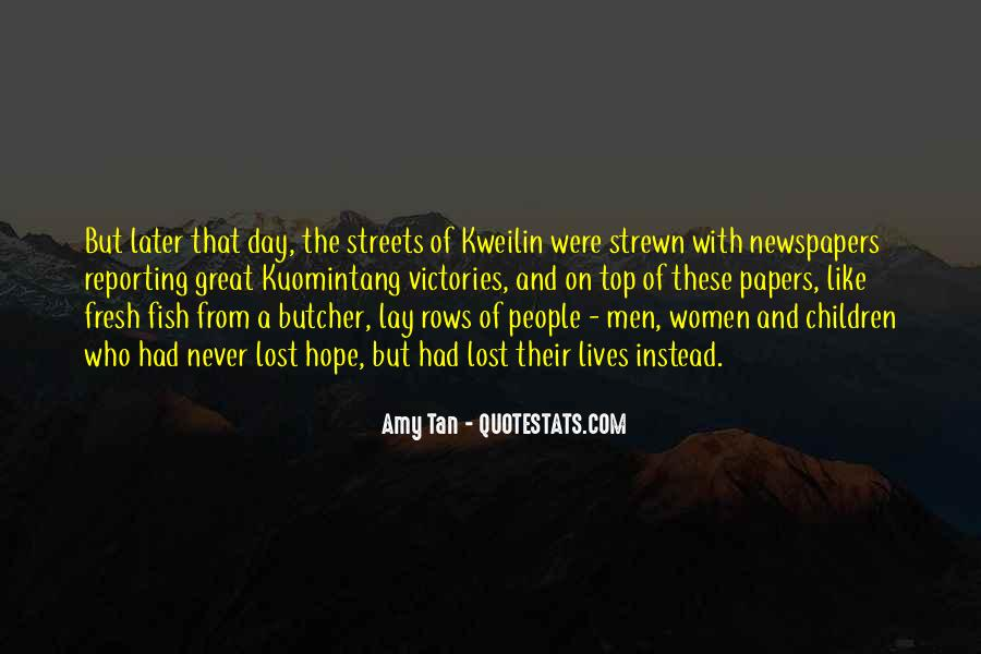 Amy Tan's Quotes #107908