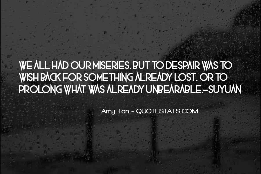 Amy Tan's Quotes #110347