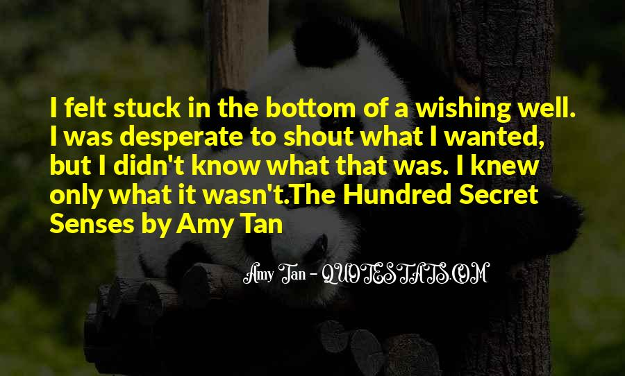 Amy Tan's Quotes #163310