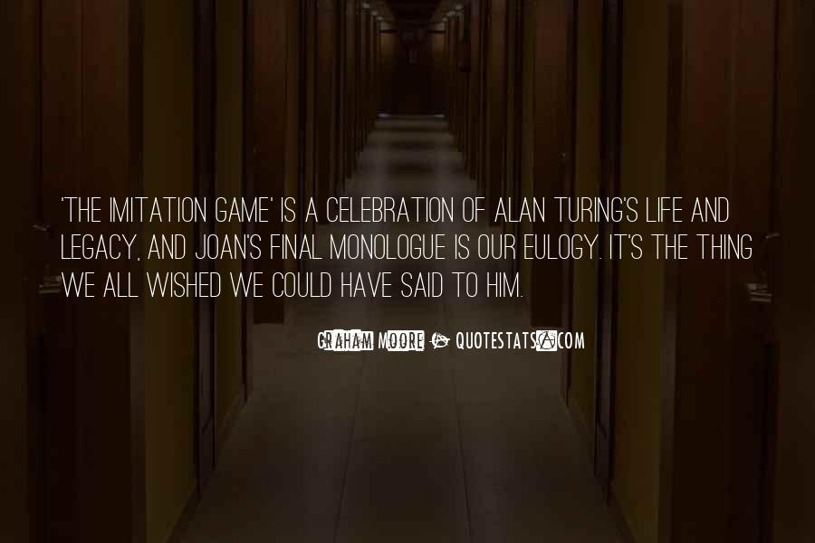 An Imitation Game Quotes #359360