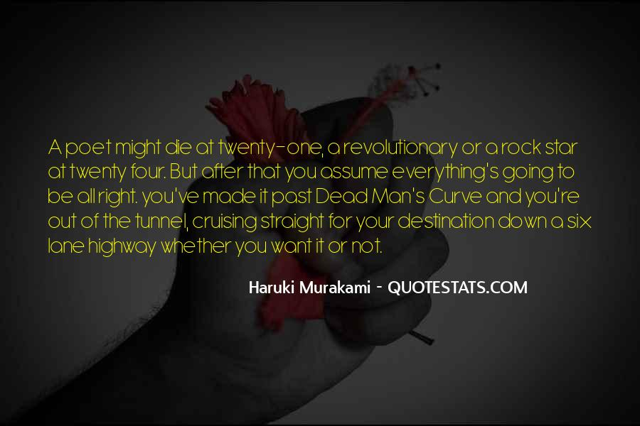 Quotes About Murakami Death #1004