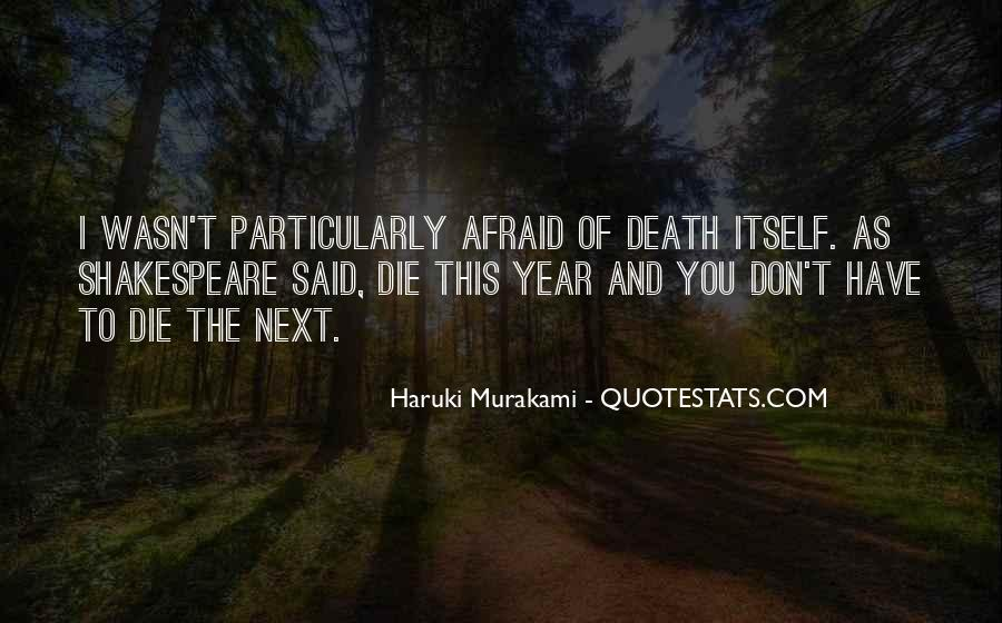 Quotes About Murakami Death #1190301