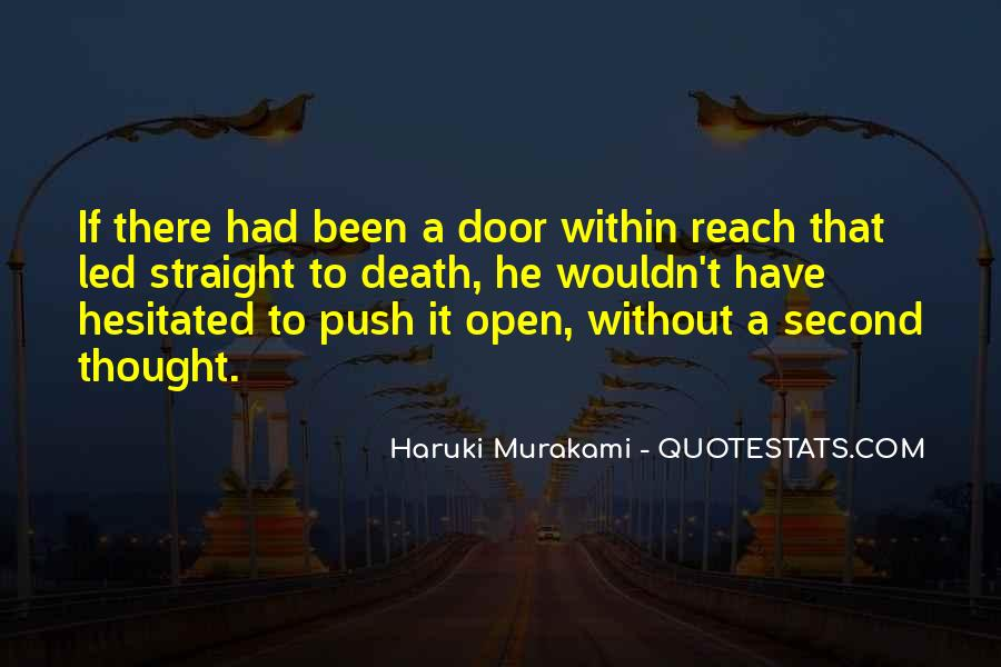 Quotes About Murakami Death #182072