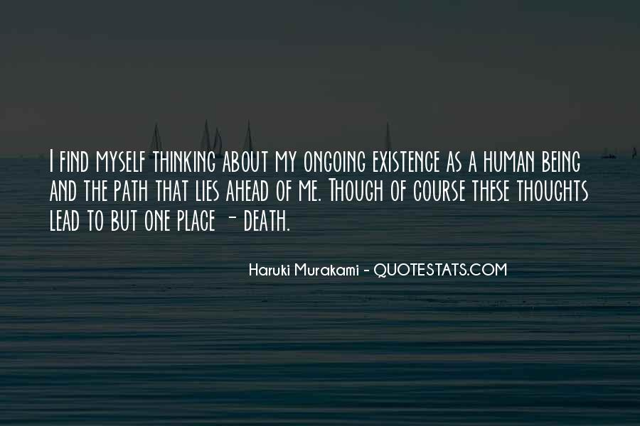 Quotes About Murakami Death #397595