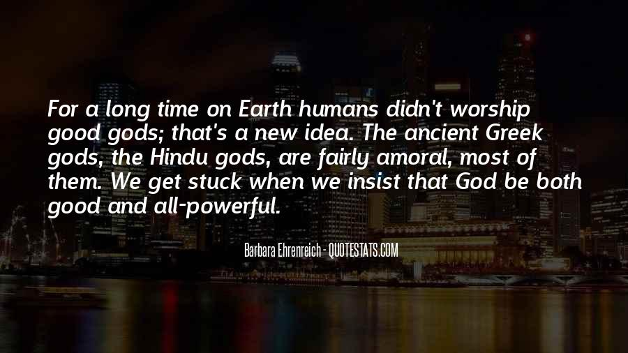 Ancient God Quotes #1601551