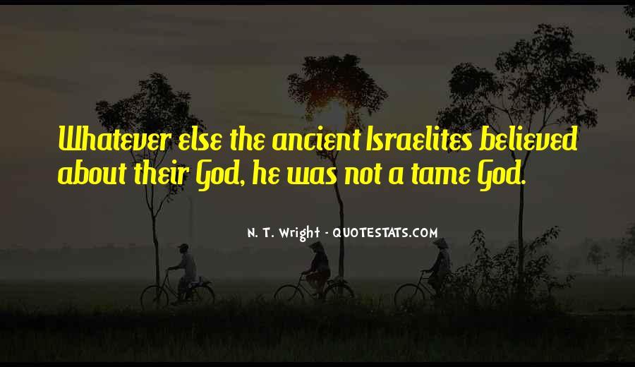 Ancient God Quotes #1777572