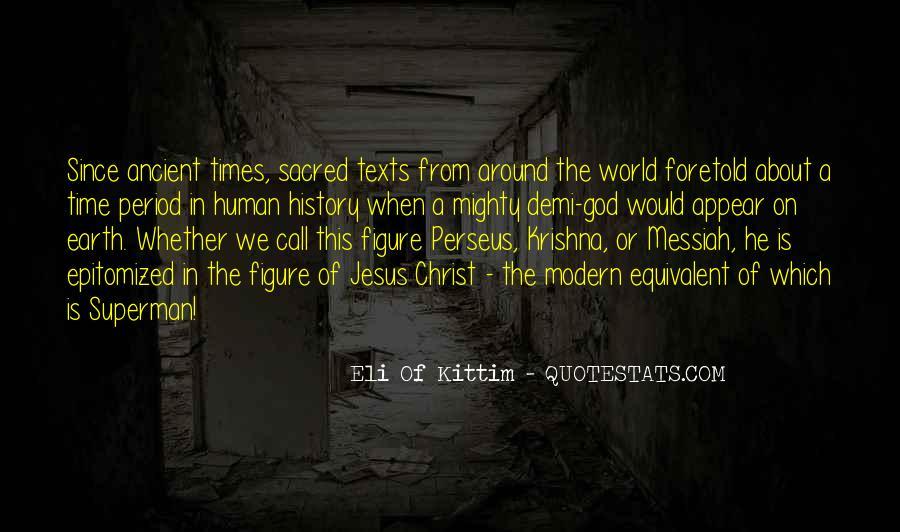 Ancient God Quotes #382340