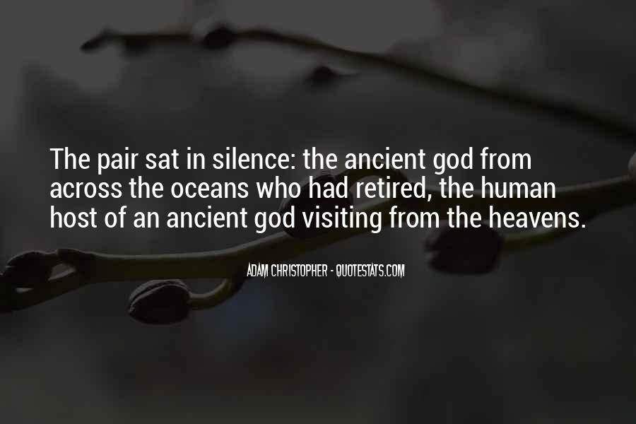 Ancient God Quotes #57613